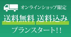 オンラインショップ限定 送料無料 送料込み プランスタート!!